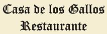Restaurante - Casa de los Gallos - Cifuentes (Guadalajara)